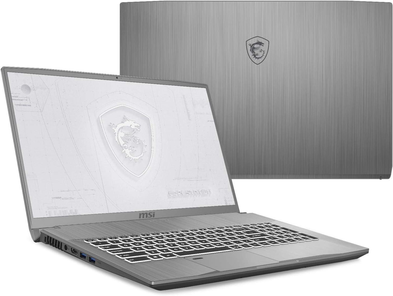 "MSI WF75 10TK-250 (i7-10750H, 32GB RAM, 1TB NVMe SSD, Quadro RTX 3000 6GB, 17.3"" Full HD, Windows 10 Pro) VR Ready Workstation Laptop"