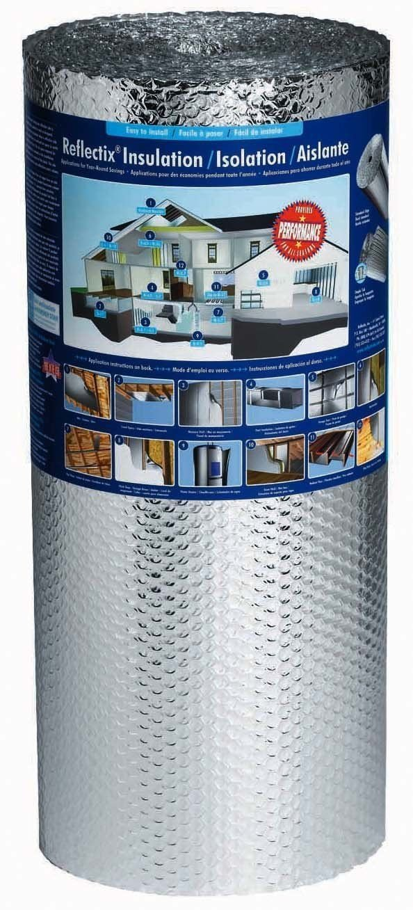 AES REFLECTIX BP24025 24'' x25' Foil Insulation Double Bubble Reflective Insulation by AES (Image #1)