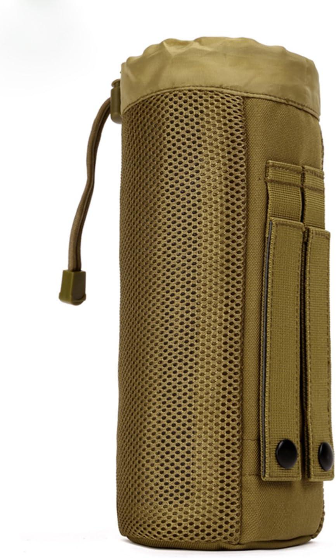 Hombre Mujer Gran Bolso de Hervidor Botella de Agua Cantimplora Engranaje Táctico Militar Diámetro 9cm