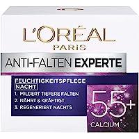 L'Oréal Paris Nachtverzorging voor het gezicht, hydraterende anti-aging nachtcrème met calcium ter vermindering van…