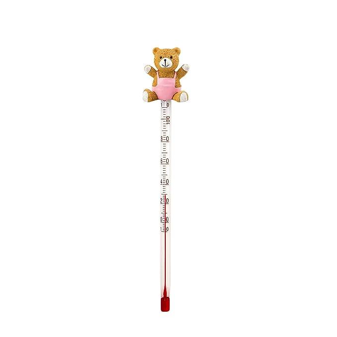 1 opinioni per Lantelme 4782- Termometro per biberon a forma di orsetto, in vetro e plastica,