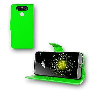 LG G5 Funda de libro de piel sintética y lápiz por SS Tech, piel ...