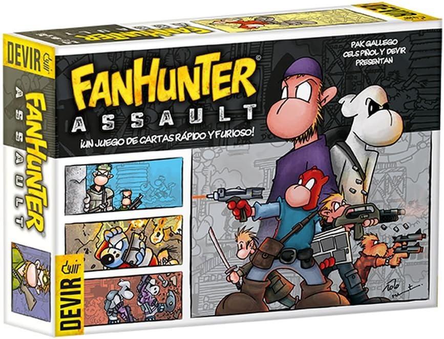 Devir- Juego de Cartas (BGFHAS): Amazon.es: Juguetes y juegos
