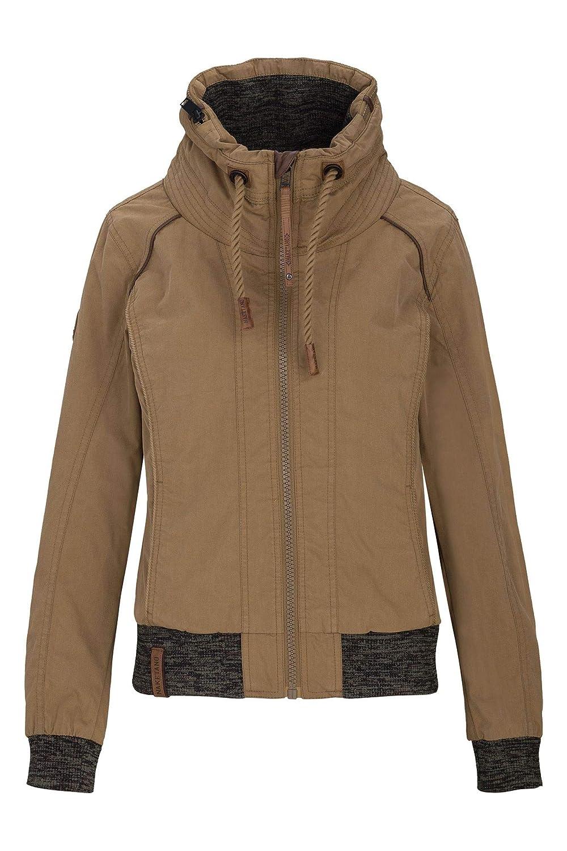 Naketano Female Jacket Pallaverolle Aubergini, L: Bekleidung