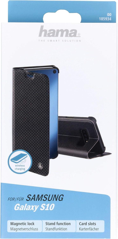 Hama Slim Pro Schutzhülle Für Samsung Galaxy S10 Schwarz Elektronik