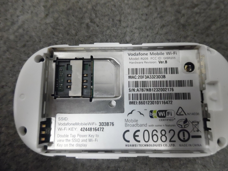 Desbloqueado Vodafone Huawei R205 alta velocidad 3 G/4G MiFi 21,1 Mbps HSPA + Banda ancha móvil: Amazon.es: Informática