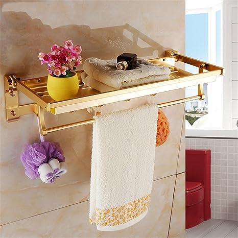 Toallero De Baño Organizador De Baño Toallero De Pared De ...