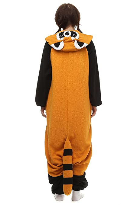 Amazon.com: Adults Kigurumi Raccoon Onesie Pajama Cute Animal Costume Cospaly Partywear Outfit: Clothing