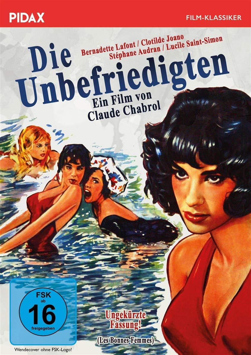 "Aktuelles DVD-Cover ""Die Unbefriedigten"" (Pidax)"