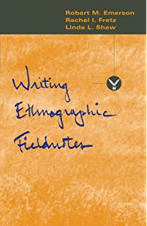 Amazon.com: Writing Ethnographic Fieldnotes, Second Edition ...