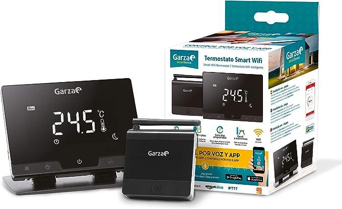 Garza Smarthome - Termostato Smart WiFi Inteligente para Caldera y ...