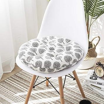 KongEU Lot De 2 Coussins Chaise En Mousse Pour Interieur Et Exterieur Luxe