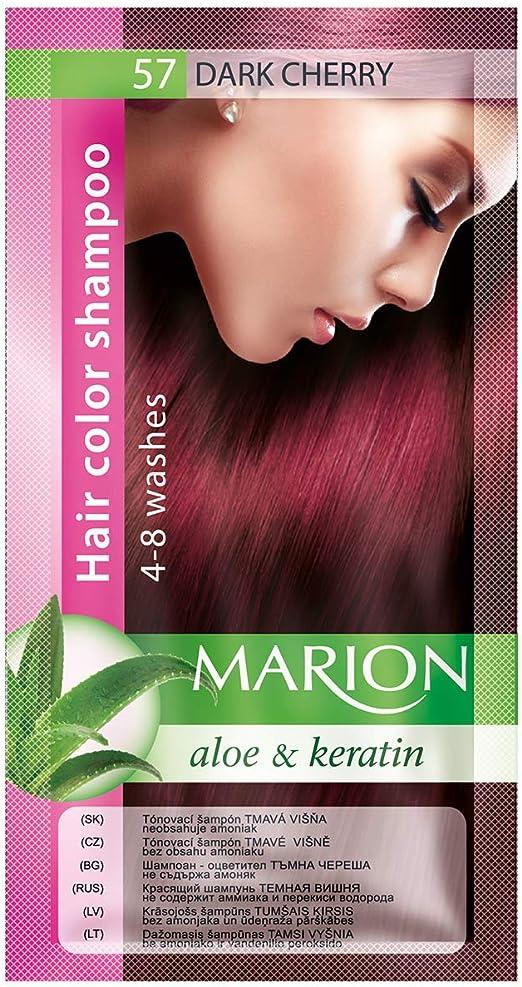 Marion Champú colorante para el cabello en bolsita de 4 a 8 lavados - 91 [57 - Cereza oscura]