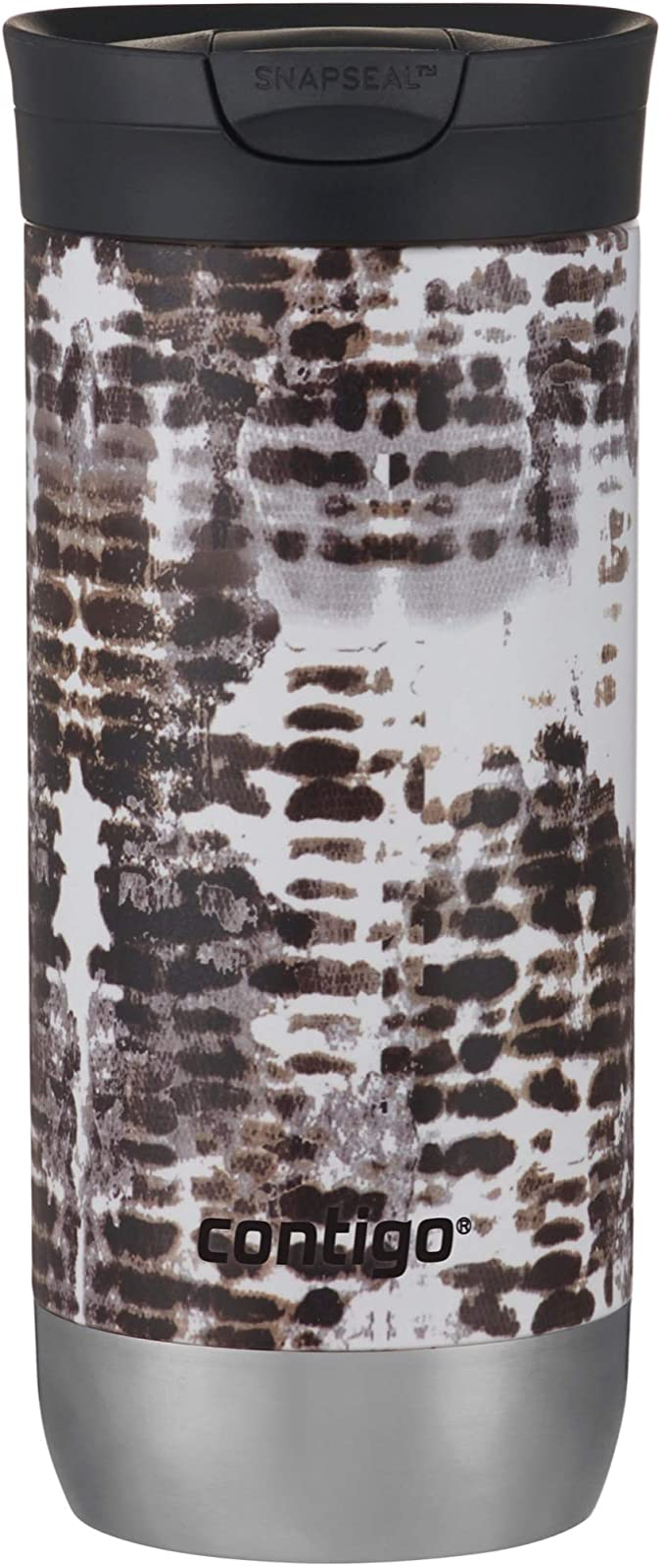 Contigo Snapseal Insulated Travel Mug, 16 Ounce, Snakeskin
