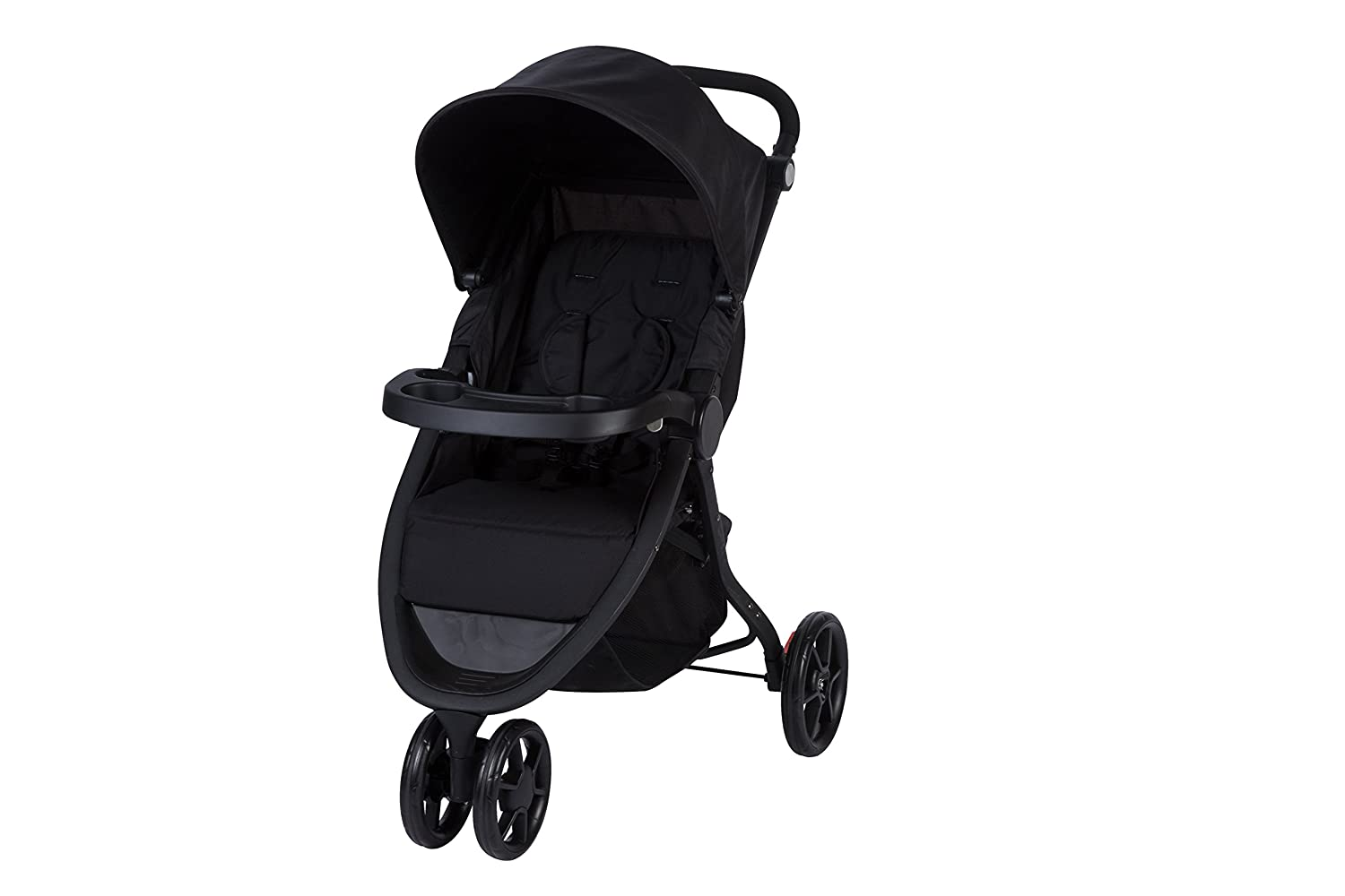 Safety 1st Poussette 3 roues Urban Trek Multi-positions, Pliage Facile, Grand Panier et Habillage Pluie - Full Black DORA3 1212764000
