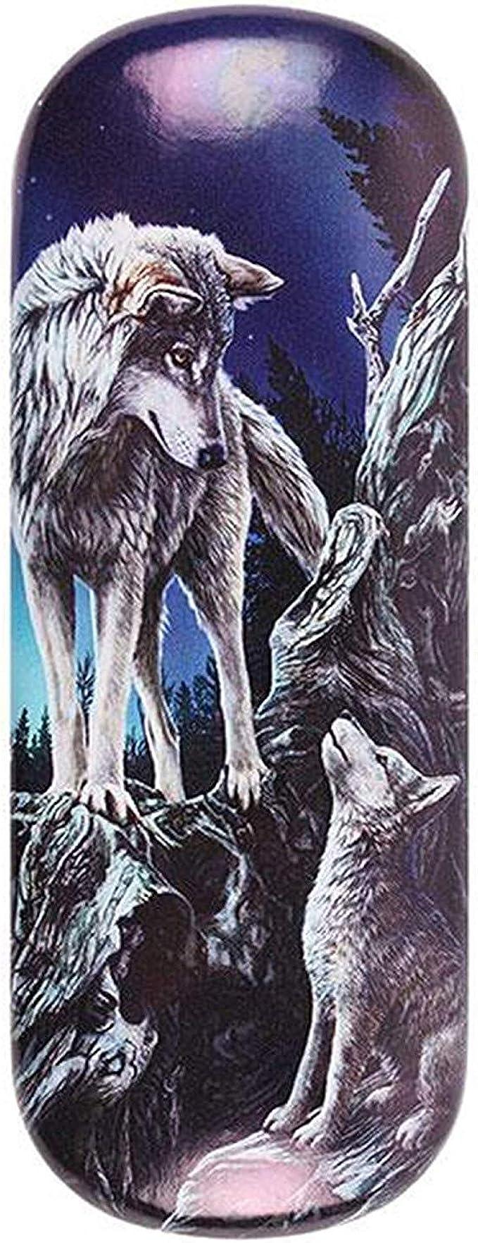 Lisa Parker Glasses//Spectactle Case//Holder ~ QUIET REFLECTIONS Wolf