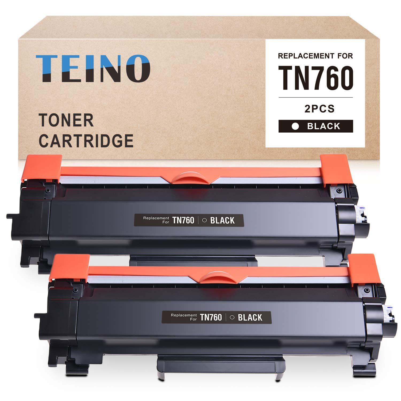 Toner Alternativo ( X2 ) Alta Capacidad Negro TEINO TN760 TN-760 TN730