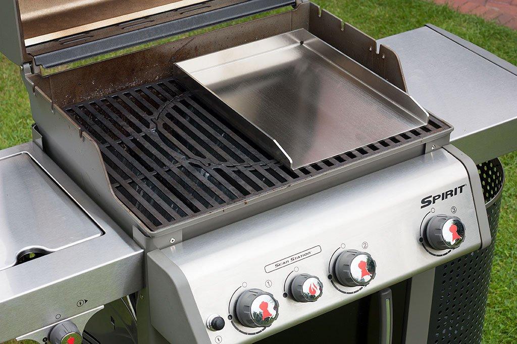 Weber Elektrogrill Mit Alufolie Auslegen : Grillrost.com das original grillplatte grillblech plancha