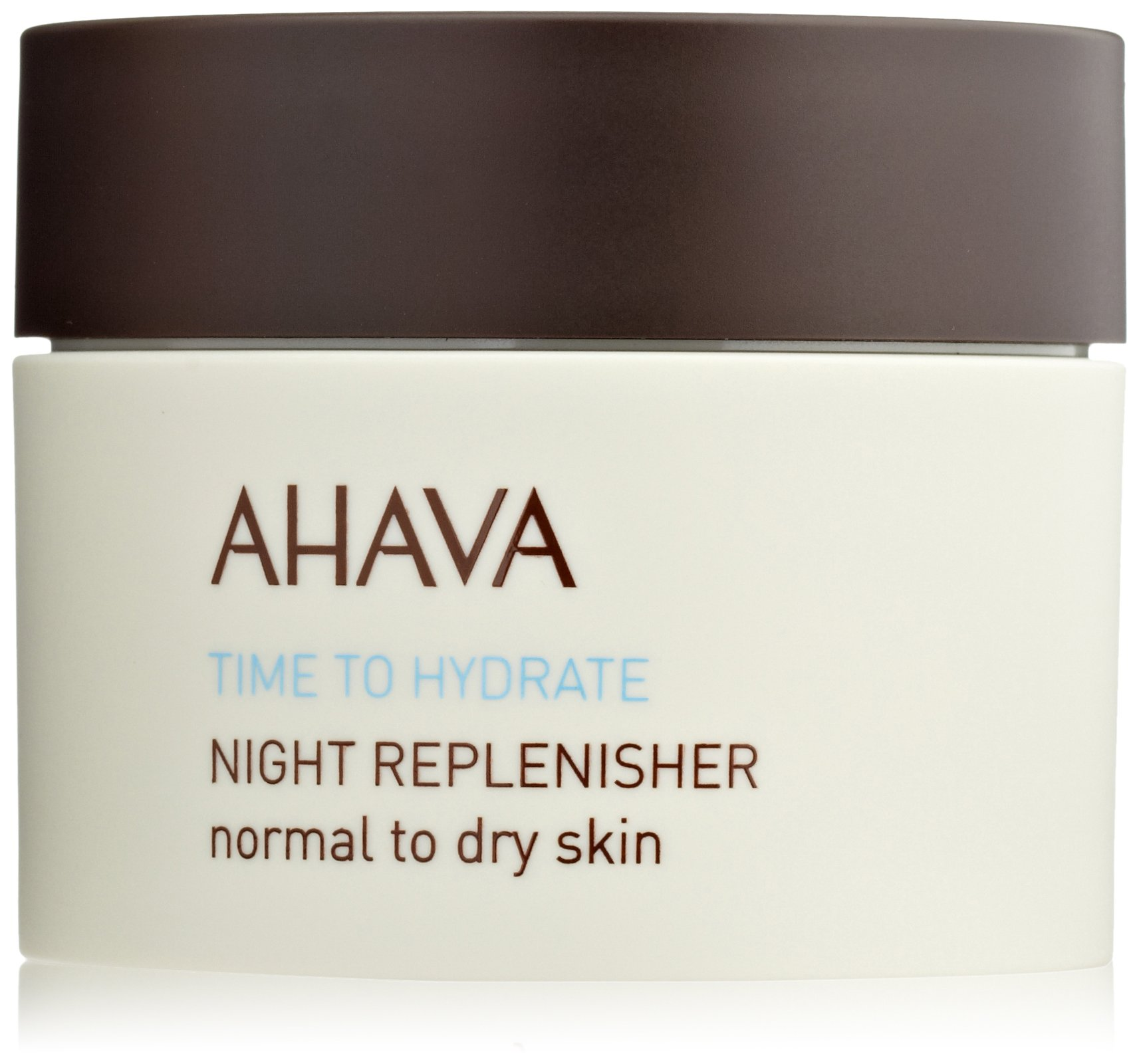 AHAVA Nighttime Face Moisturizer & Anti Aging Cream, Time to Hydrate Night Replenisher - Normal to Dry Skin, 1.7 Fl Oz