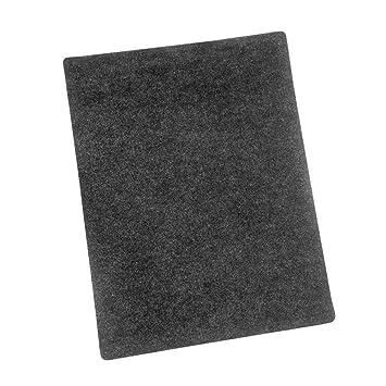 BBQ Barbacoa Matte 120 x 100 cm uni Antracita Barbacoa – Esterilla para protección de suelos