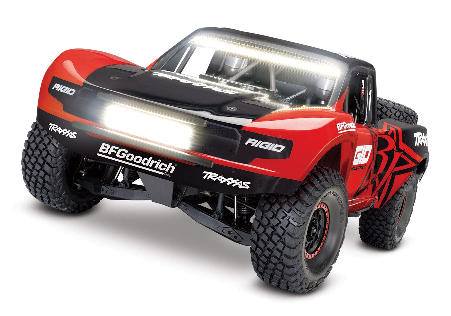 Buy Traxxas Unlimited Desert Racer 4x4 Rc Race Truck Red Online At Low Prices In India Amazon In