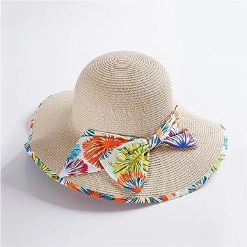 YXINY Viseras Primavera Y Verano Sra. Sombreros Aire Libre Visor Mar  Vacaciones Gorro De Playa 1f5f04c1880