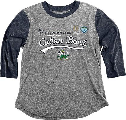 4ea30651bb7 Elite Fan Shop Notre Dame Fighting Irish Cotton Bowl Women's Tshirt 2018  Charcoal - S