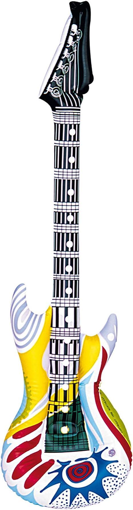 WIDMANN- Guitarra Hinchable, Color Rosa, Talla única (23945 ...