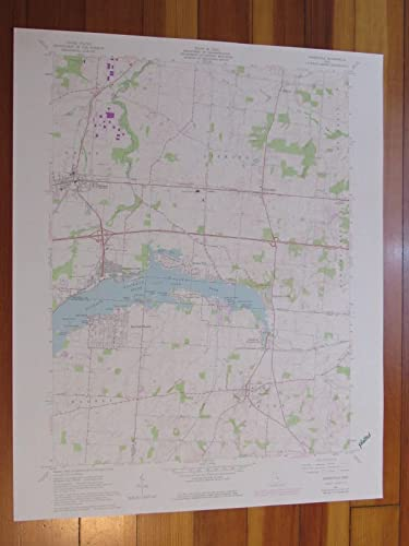 Amazon Com Thornville Ohio 1977 Original Vintage Usgs Topo Map