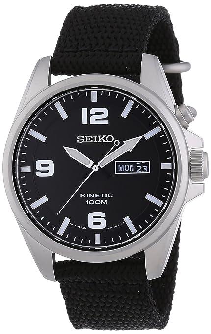 Seiko Reloj con movimiento cuarzo japonés SMY143P1 41 mm: Amazon.es: Relojes