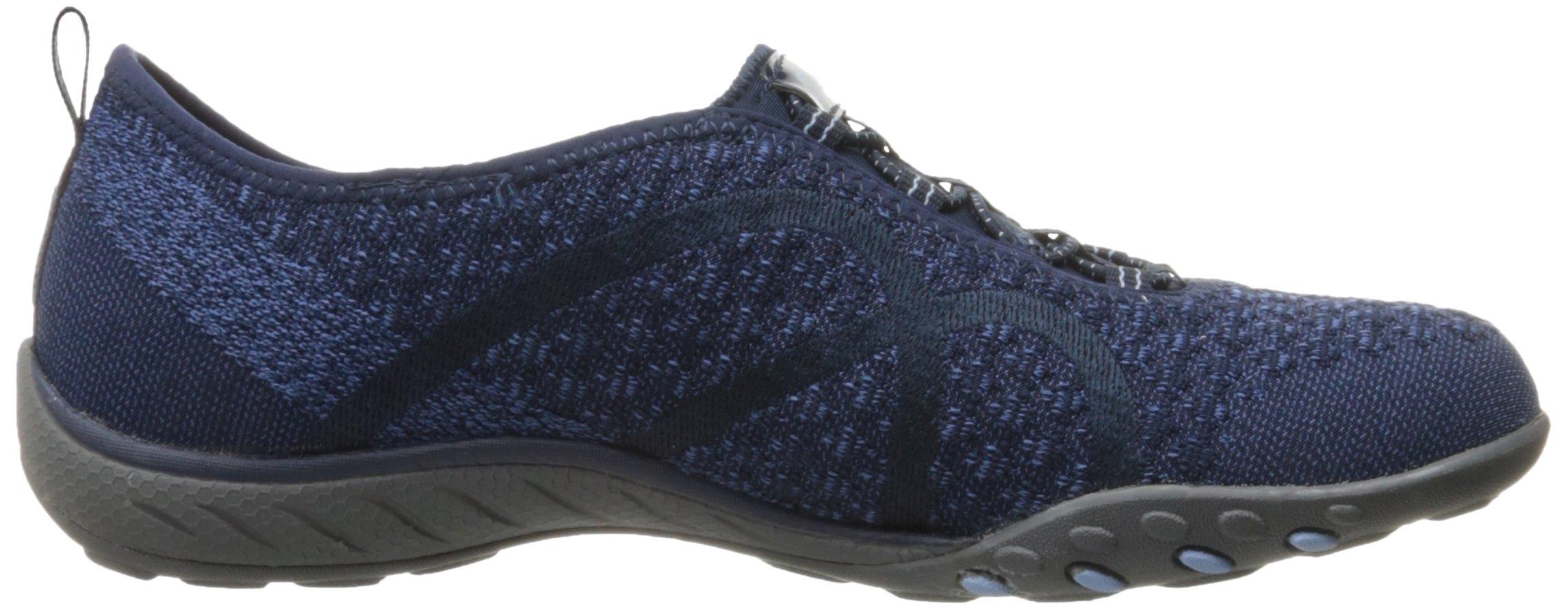 Skechers Sport Women's Breathe Easy Fortune Fashion Sneaker,Navy Knit,5.5 M US by Skechers (Image #7)