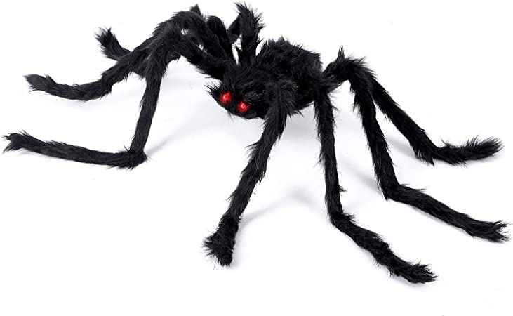 Halloween 2020 Was Horrible Amazon.: Halloween Decorations   Spider Outdoor 2020 Upgrade