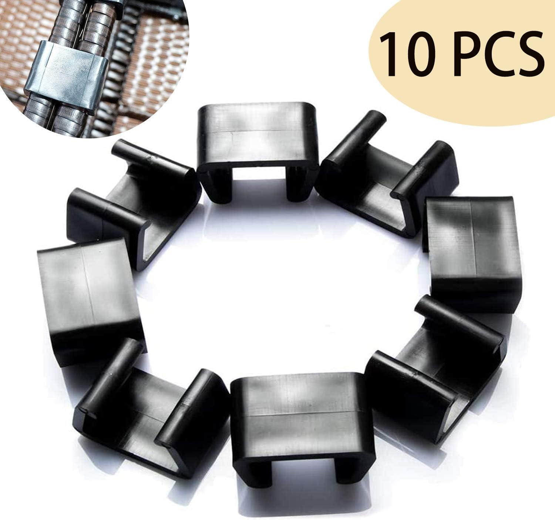 10 PCS Outdoor Patio Furniture Clips,Patio Wicker Furniture Clips,Furniture Clips Sectional Outdoor