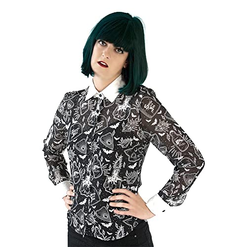 Camisa Fearless Illustration Willow (Negro)