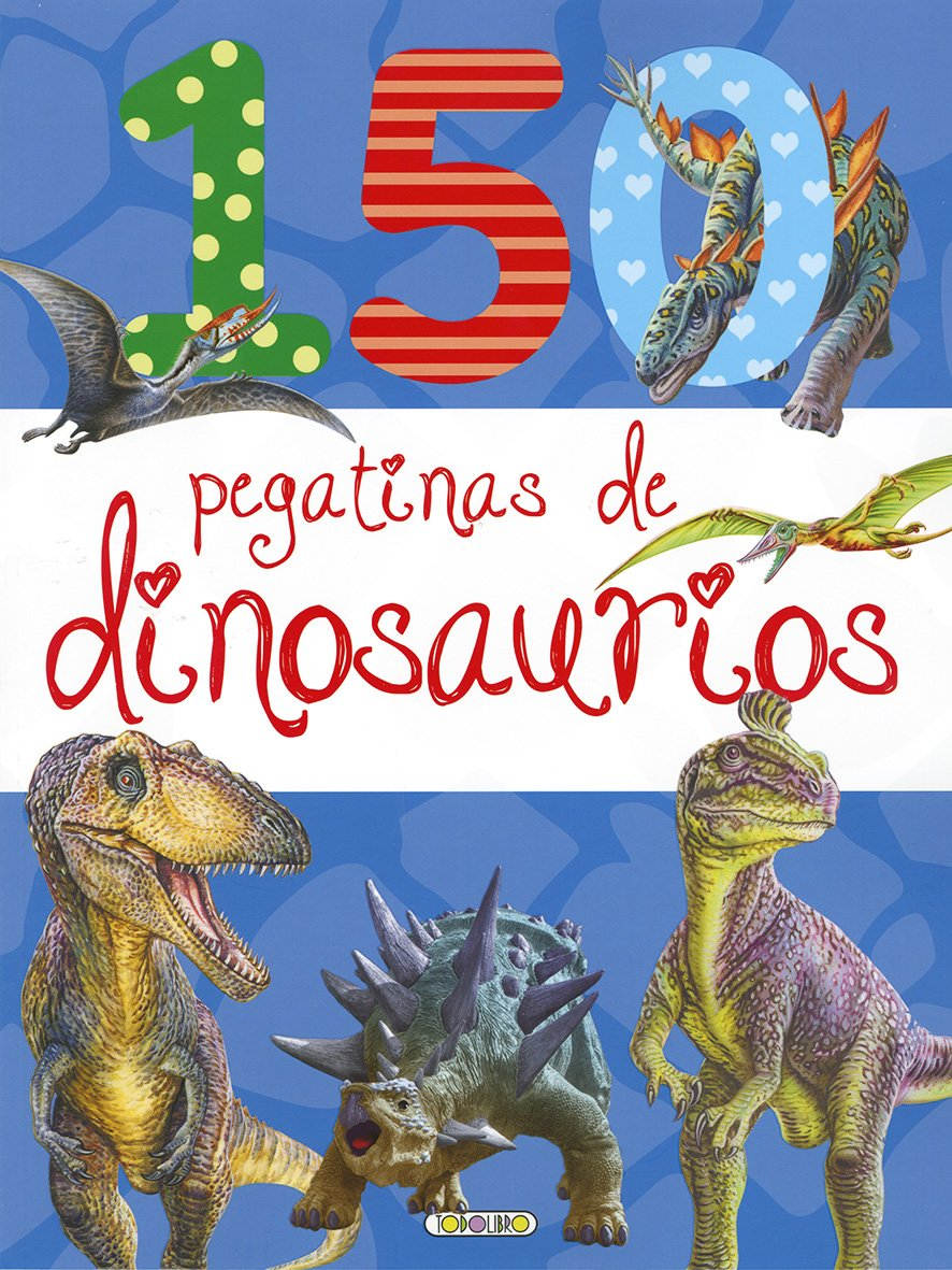 150 Pegatinas de dinosaurios 1: Amazon.es: Todolibro: Libros