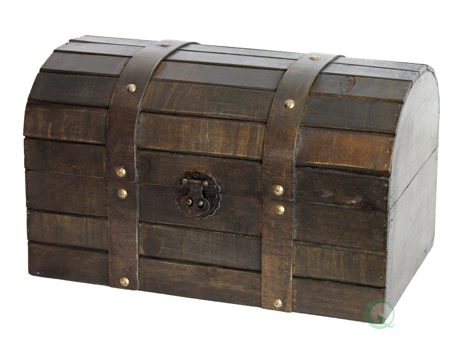 Vintiquewise(TM) Old Style Barn Trunk/Box by Vintiquewise