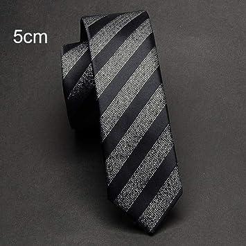 Hombres Corbata 5Cm Corbatas Flacas De Lujo Corbatas De Tela ...
