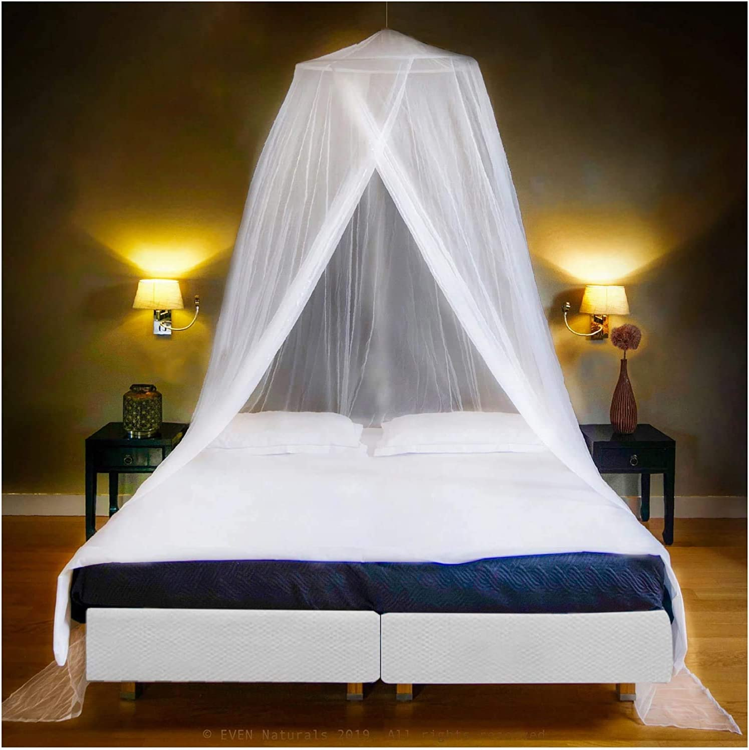 SPORTZTREK MOSQUITO NET DOUBLE BED 500 HOLES SQUARE INCH