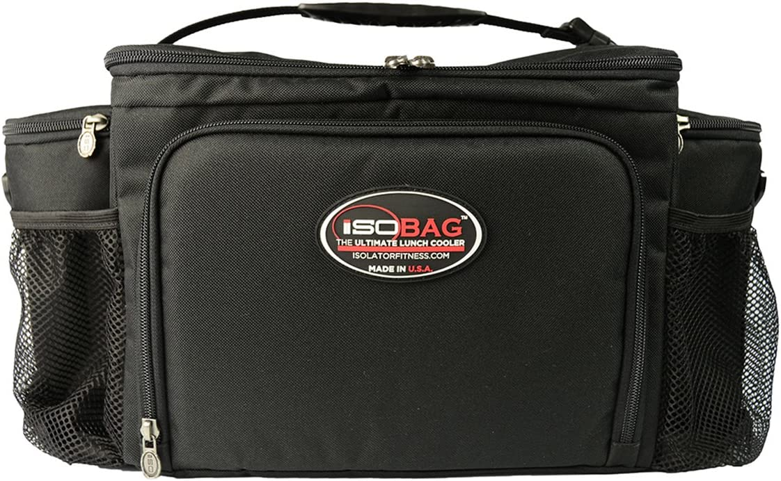 Isobag 6 Meal Management System (Black/Black): Amazon.es: Hogar