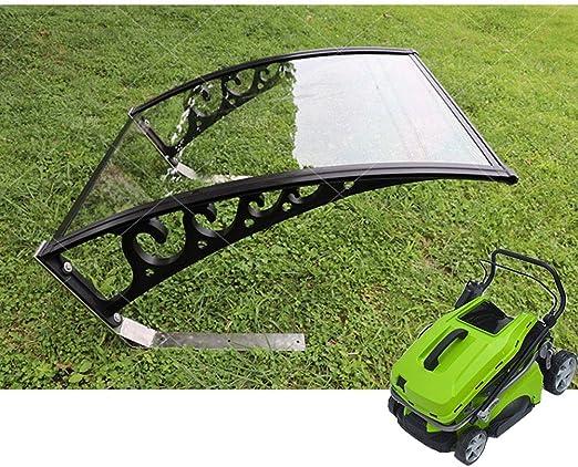 Tejadillo de Protección Marquesina QIANDA Techo Abrigo para Cortacésped Lluvia Cubrir Capucha Protege para Jardín Equipo - 102 X 80 X 45 Cm: Amazon.es: Jardín