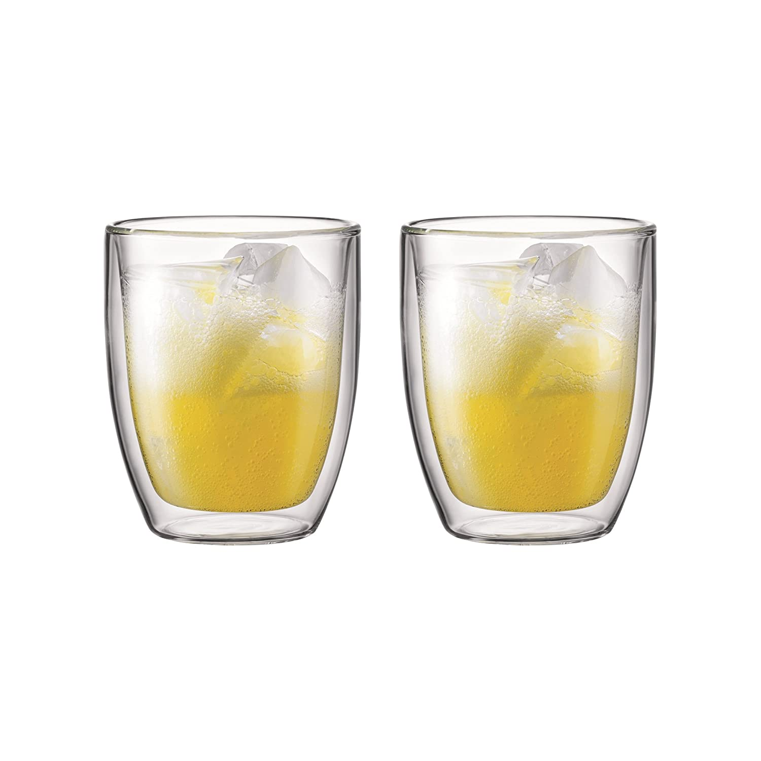 Bistro 10605-10 Bistro 2-Piece Glass, Double Wall, 0.45 L, 15 Oz BODUM
