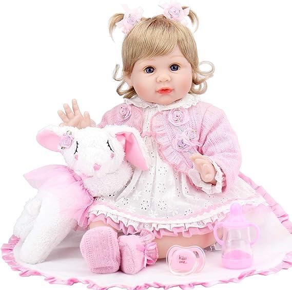 Aori Lifelike Reborn Baby Doll (Pink Outfit), 22
