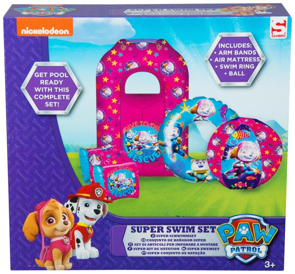 PAW PATROL PWP9-7097-2 Super Swim - Juego para niña: Amazon.es: Juguetes y juegos