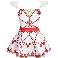 YiZYiF Girls Kids Movie Ballerina Ballet Dress Ruffles Tutu Dance Leap Skirt Costumes