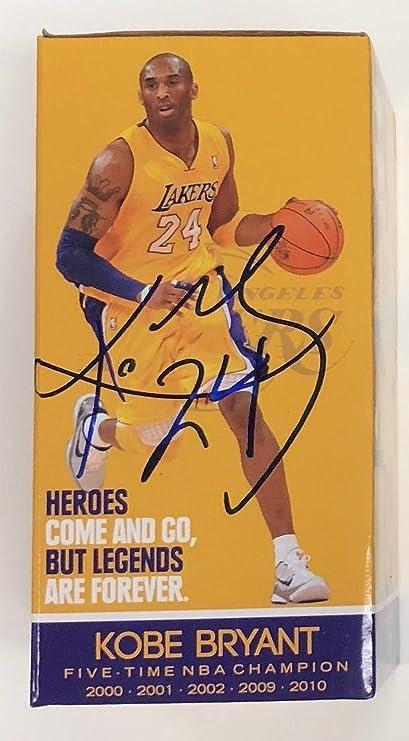 ea8c1fc8 Kobe Bryant 2016 La Lakers Edition Bobblehead Box Autographed Signed  Autograph Sports Memorabilia JSA Cert