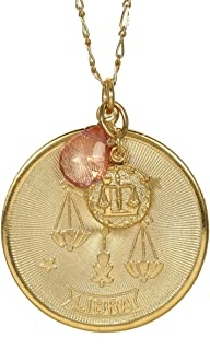 product image for a. v. max Libra Zodiac Pendant Necklace