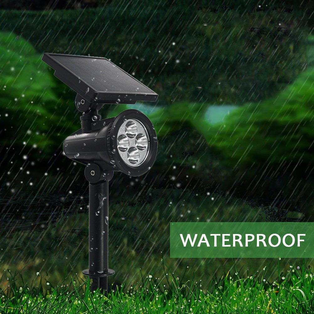 PowerKing Flood Light LED Outdoor Remote Solar Flood Light For Garden (8 color,2 pcs) by PowerKing (Image #5)