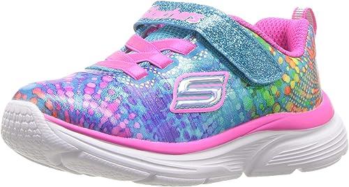 Skechers Mädchen Wavy Lites 8138l Sneaker, Multi: KcnAV