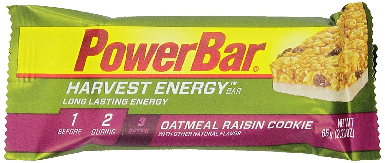 Powerbar - Harvest Whole Grain Energy Bar, avena y pasas galletas, barras de 2.29 onzas (paquete de 15): Amazon.es: Deportes y aire libre