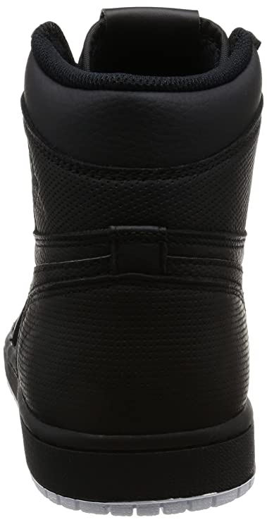 5e858d83d317 Amazon.com  Jordan Nike Men s Air 1 Retro High OG Black Leather Basketball  Shoes 9.5  Jordan  Clothing